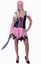 Piraten dames jurkje easy