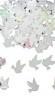 Tafeldecoratie/sier-confetti: Duifjes