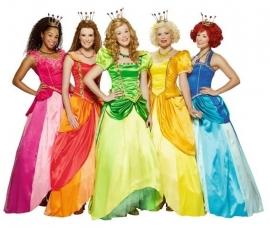 Prinsessia jurk origineel roze