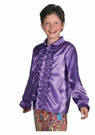 Blouse roezel paars