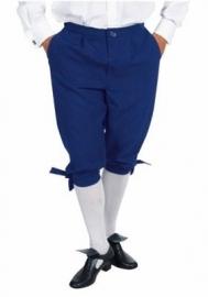 Blauwe markies broek