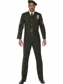 Kostuum Officier deluxe
