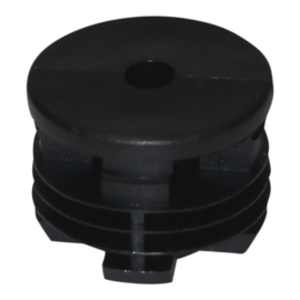 Inslagdop Polyamide rond 50 mm.