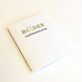 Personalized Simple Booklet - Binder Communicatie