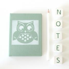 Notebook Spring - Owl Framed