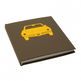 Notebook Retro Alfa Coda Tronco -  Medium