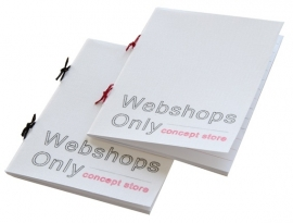 Personalized Simple Booklet - Webshops Only