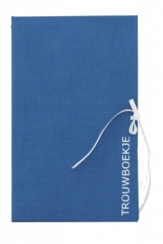 Wedding Booklet Blue