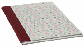Notebook Retro Cahier - pink green