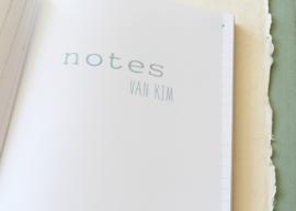 Notebook op naam