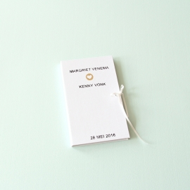 Gepersonaliseerd Trouwboekje