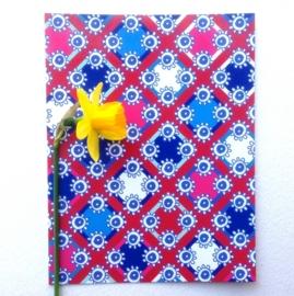 lentekriebels rood en blauw