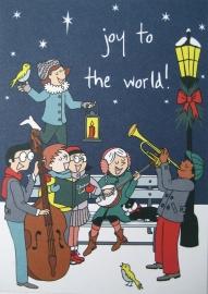 10 kerstkaarten - joy!