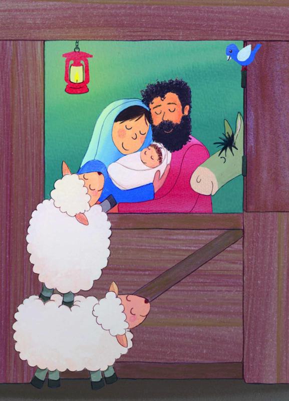 kerst - de stal