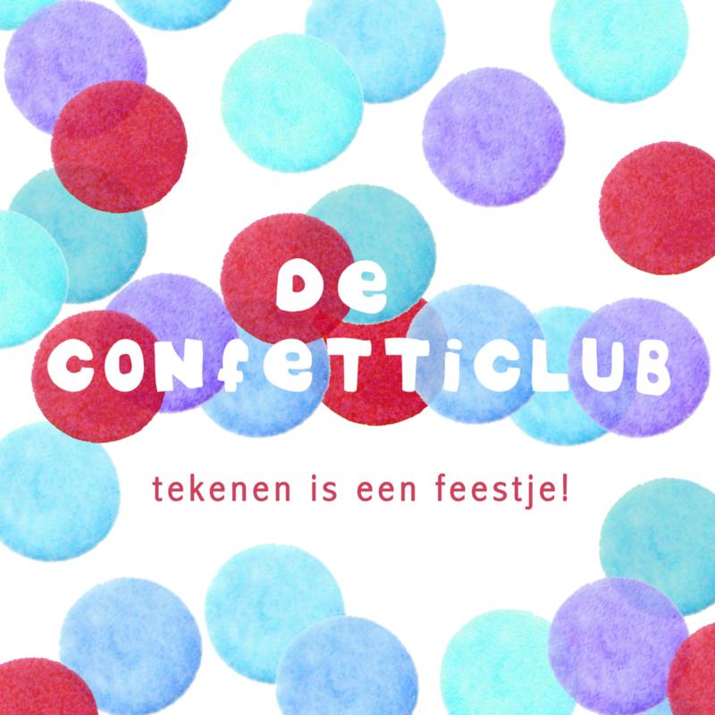 confetticlub  november- december Driebergen 8 t/m 12 jaar