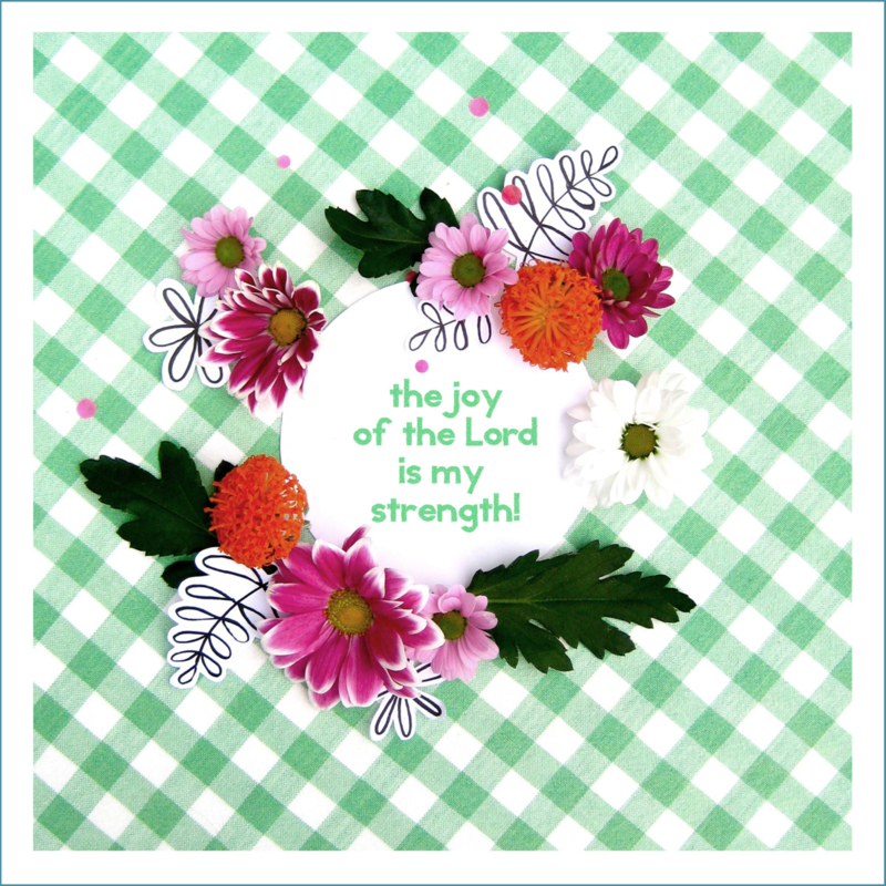 Poster : The joy of The Lord is my strength!
