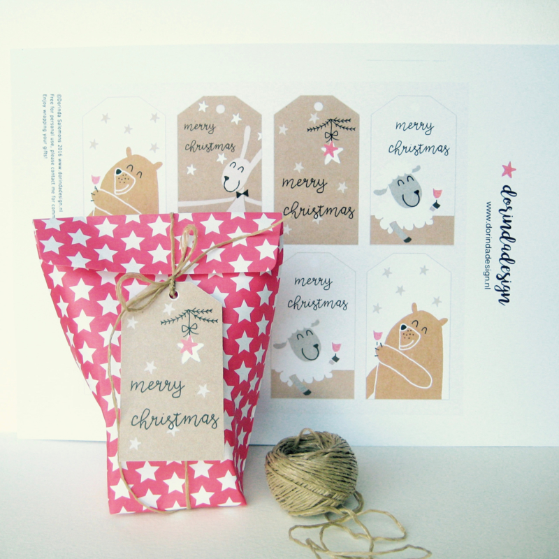 free download gift tags