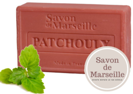 "Patchouli Soap Enriched with almond oil ""Le Chatelard 1802 de Marseille"""