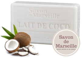 "Coconut milk Soap Enriched with almond oil ""Le Chatelard 1802 de Marseille"""