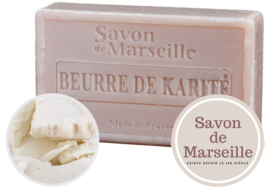 "Shea Butter Soap Enriched with almond oil ""Le Chatelard 1802 de Marseille"""