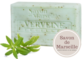 "Verbena Leaves Soap Enriched with almond oil ""Le Chatelard 1802 de Marseille"""