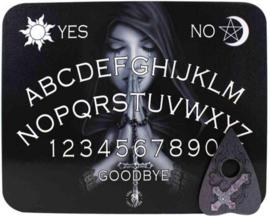 Ouijabord - Spitetbord gothic prayer design door Anne Stokes