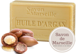 "Argan Soap Enriched with almond oil ""Le Chatelard 1802 de Marseille"""