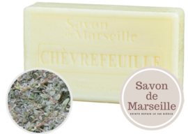 "Honeysuckle Soap Enriched with almond oil ""Le Chatelard 1802 de Marseille"""