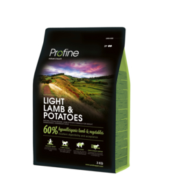 Adult Light Lamb & Potatoes 3kg