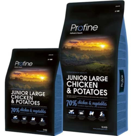 Junior Large Breed Chicken & Potatoes 3kg