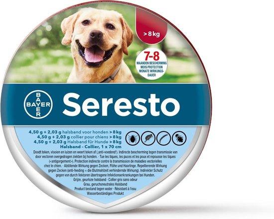 Seresto halsband hond >8kg