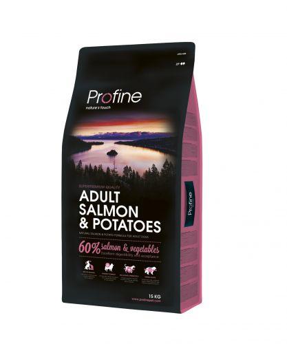 Adult Salmon & Potatoes 15kg