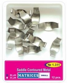 SADDLE CONTOURED METAL MATRIX SMALL, REFILL