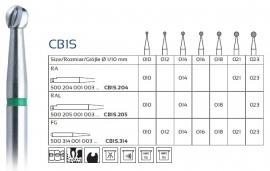 CB1S CARBIDE CARIËSBOREN, EASY DENTAL, 5 STUKS