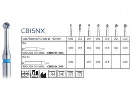 CB1SNX CARBIDE CARIËSBOREN, EASY DENTAL, 5 STUKS