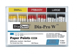 DIADENT DIAPRO  W WAVE ONE PAPER POINTS