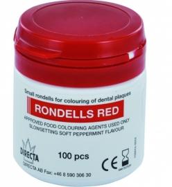 RONDELLS RED PLAQUE TEST