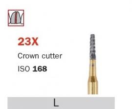 CROWN CUTTER  D23X, 10 STUKS