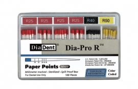 DIADENT DIAPRO R PAPER POINTS