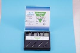 CYLINDRICAL GLASSFIBER SET (40 POSTS, 4 DRILLS)