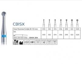 SB1SX CARBIDE CARIËSBOREN, EASY DENTAL,  5 STUKS