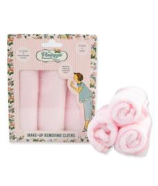 Make-up remover doekjes (3) roze