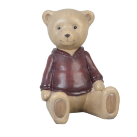 Decoratie beer zittend