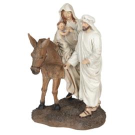 Kerstgroep met ezel