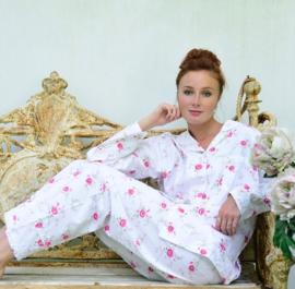 Dames Pyjama met roosjes Katie L