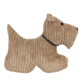 Deurstopper hond bruin