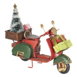 Model scooter Kerst