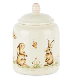 Bewaarpot met deksel Bunny's