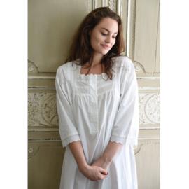 Romantisch nachthemd Eliza wit one size