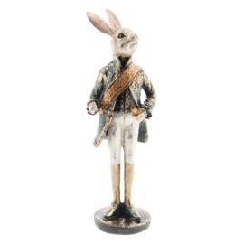 Decoratie konijn staand 7*7*23